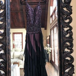 Sue Wong gown